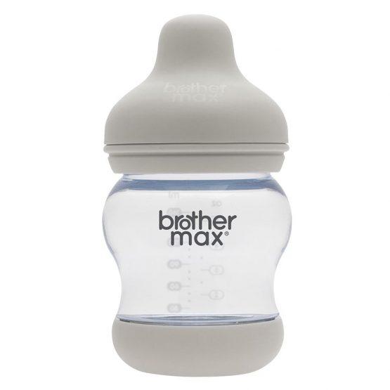 Brother Max – Anti-colic Feeding Bottle 160ml/5oz – Grey