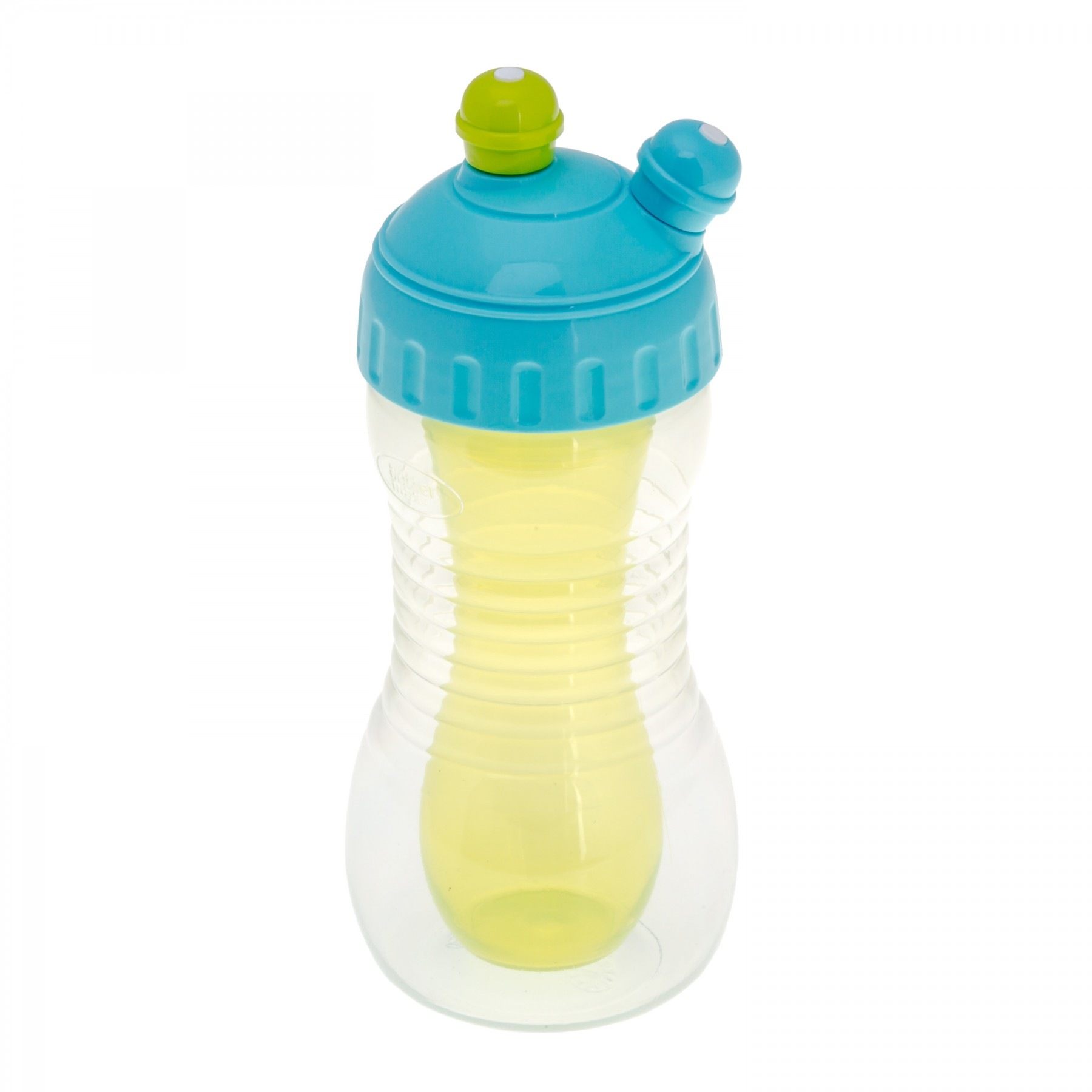 Brother Max – 2 Drinks Cooler Sports Bottle – Blue/Green