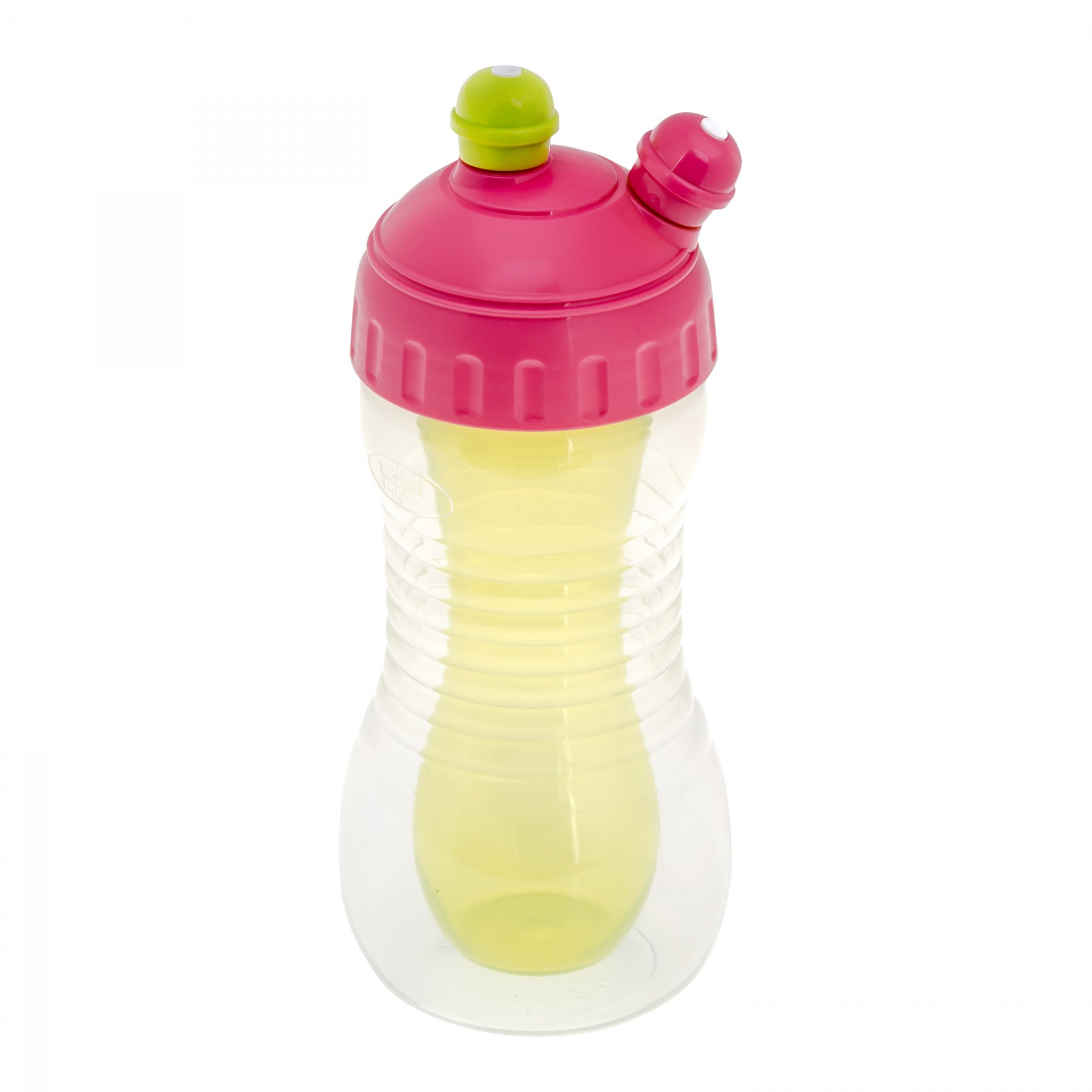 Brother Max – 2 Drinks Cooler Sports Bottle – Pink/Green