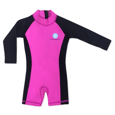 Charlie Banana – Jumpsuit Black/Hot Pink (2-3 Yrs)