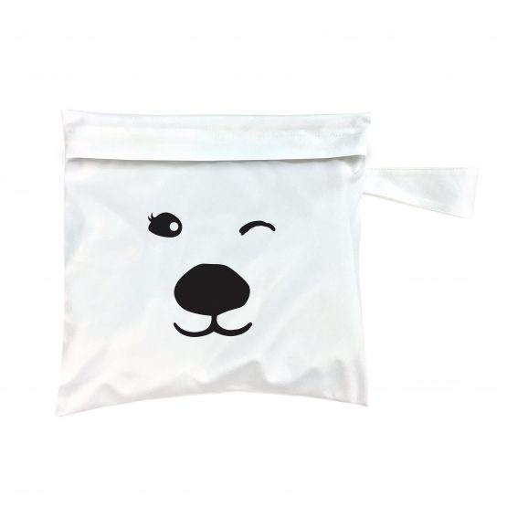Charlie Banana – Tote Bag Polar Bear White