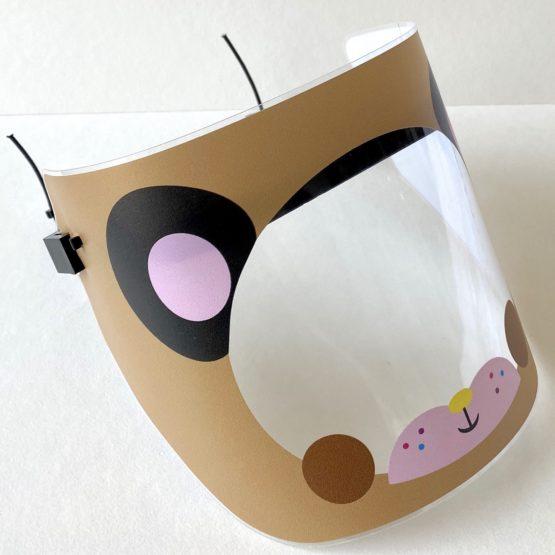 Protekta Brown Bear Protective Face Shield
