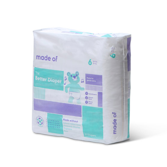 Made Of – The Better Baby Diaper – SIZE 6