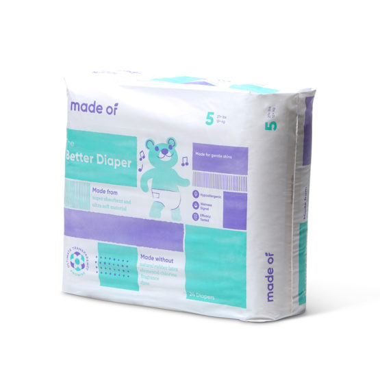 Made Of – The Better Baby Diaper – SIZE 5