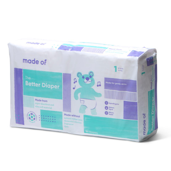 Made Of – The Better Baby Diaper – SIZE 1