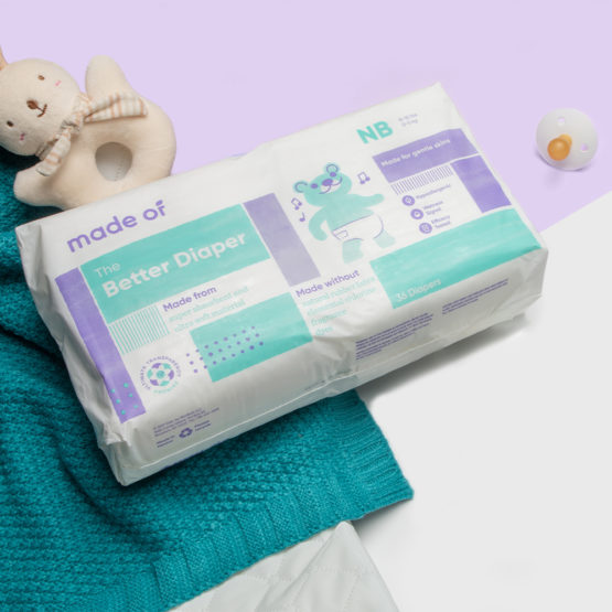 Made Of – The Better Baby Diaper – SIZE NEWBORN