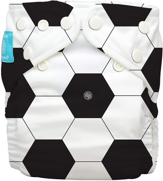Charlie Banana – Diaper 2 Inserts Soccer one size Hybrid AIO